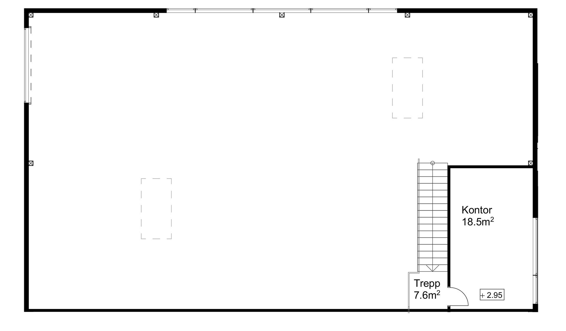 Rendi-X ladu 1 teine korrus
